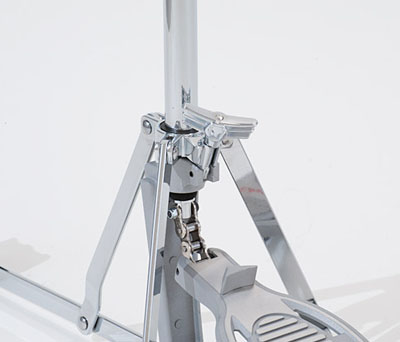 Upper tripod lock for rock-solid stability