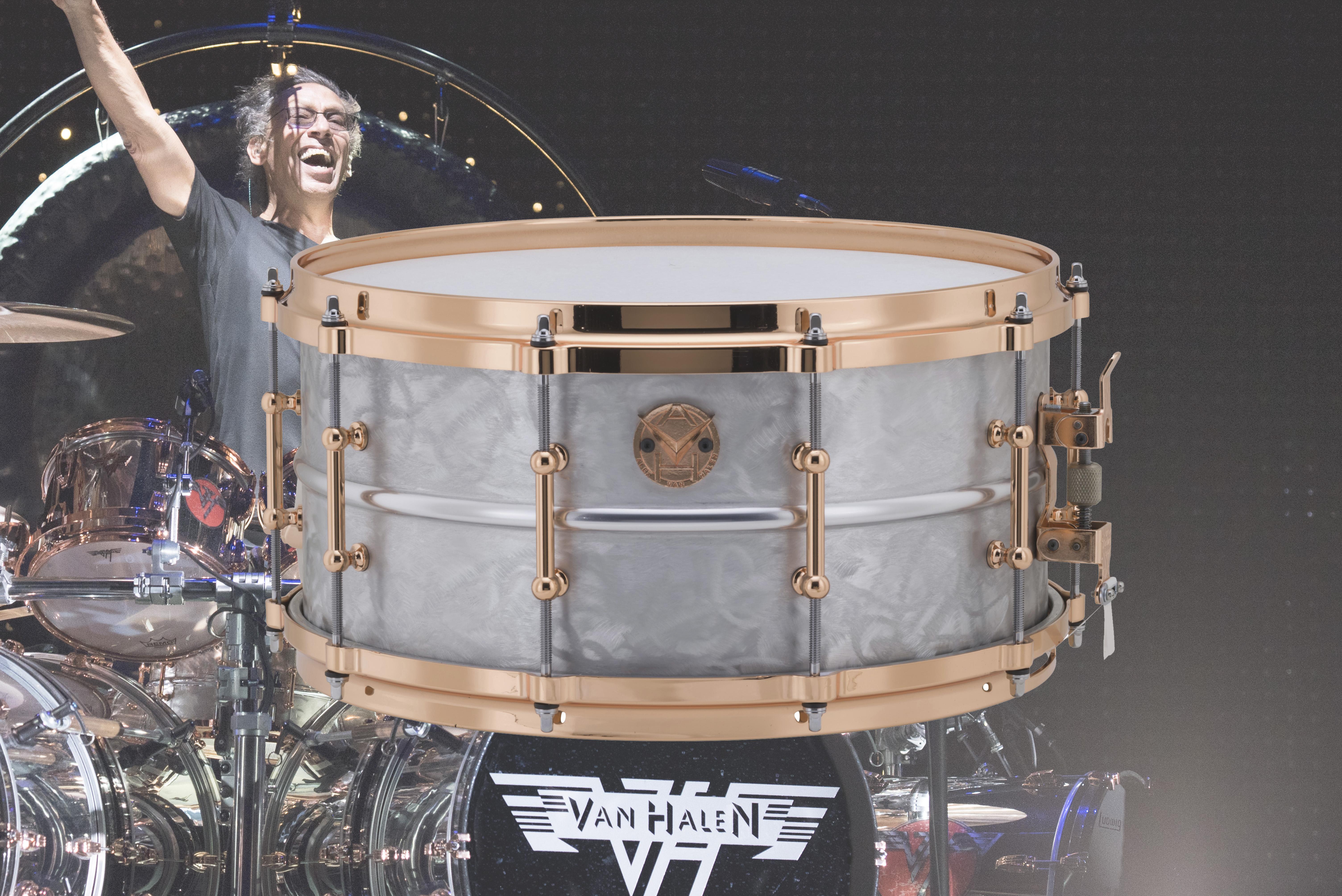 Ludwig Drums Alex Van Halen Supraphonic
