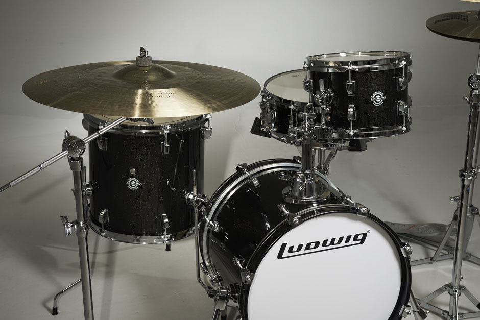 Black Gold Ludwig Questlove Breakbeat 14x5 Snare Drum