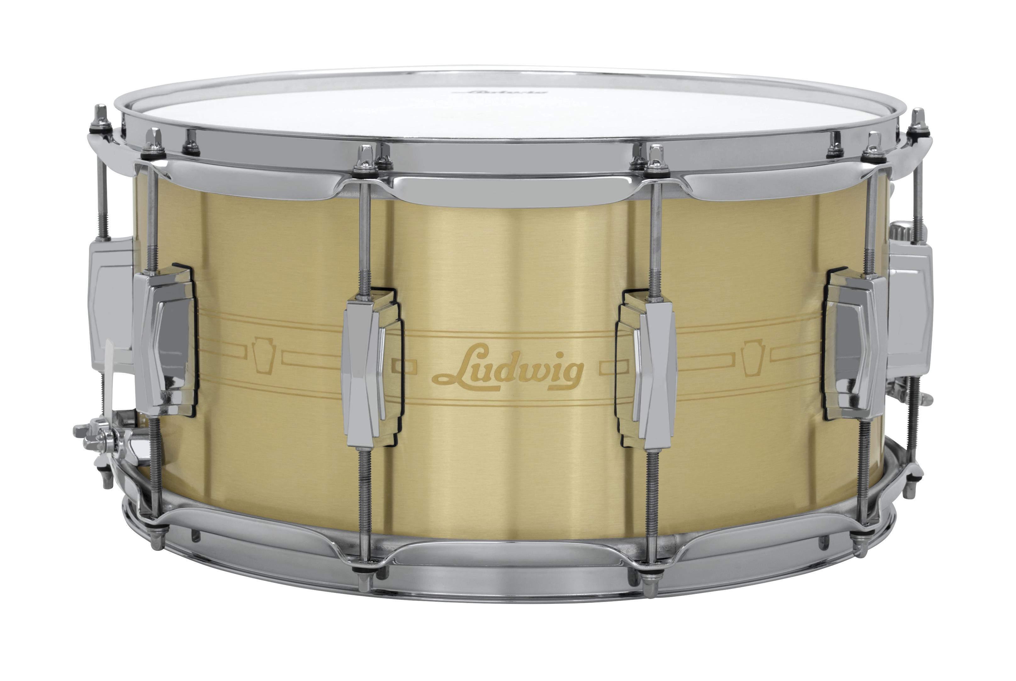 ludwig drums heirloom brass. Black Bedroom Furniture Sets. Home Design Ideas