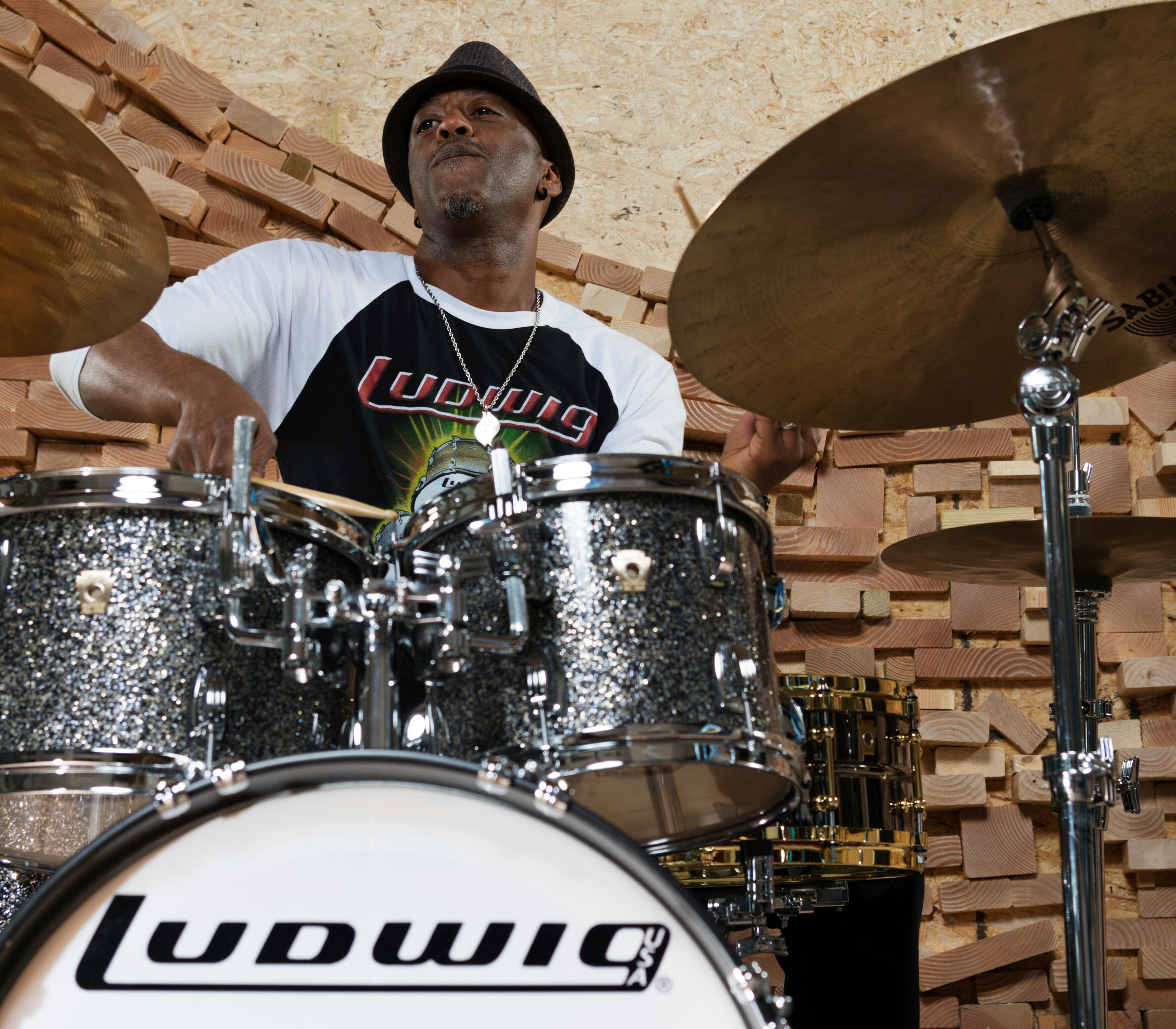 Ludwig Drums Donald Edwards